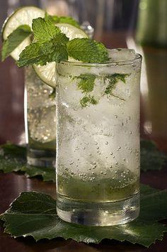 Malibu (rum) Mojito...(slurp)!