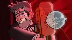 kerbabbles:  He who was so fierce now finds himself at the other end of the gun, and cannot bear to look.   MORE SCREENSHOT REDRAWS!!! AND MORE p A I N THIS PART ABSOLUTELY B U RI ED ME I'VE NOTICED A THEME AND IT'S ME DRAWING STANFORD IN COMPLETE DESPAIR I NEED TO F IX THIS RIGHT NOW LIKE RI G HT NOW