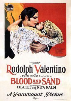 Rudolph Valentino and Nita Naldi, Blood and Sand, 1923