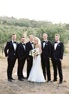 classic black tuxedo | great groom style