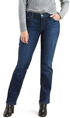 Amazon.com : womens jeans Women's Straight Jeans, Straight Jacket, Jeans Store, Long Knit Cardigan, Womens Clothing Stores, Jeans Brands, Pants For Women, Casual Outfits, Women's Jeans