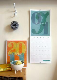 orangebeautiful calendar