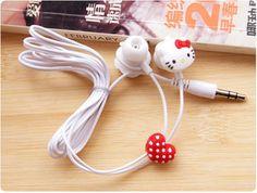Hello Kitty In-Ear Earphones