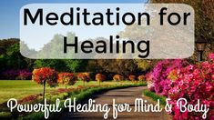 Meditation for Healing | Heal your Mind and Body in 10 Minutes Guided Meditation For Sleep, Best Meditation, Meditation Rooms, Meditation For Beginners, Meditation Benefits, Meditation Techniques, Meditation Quotes, Healing Meditation, Mindfulness Meditation