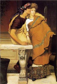 The Honeymoon - Sir Lawrence Alma-Tadema