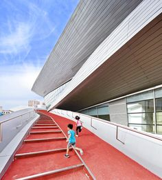 Gallery of Hongkun Xihongmen Sports Park / Mochen Architects&Engineers - 1