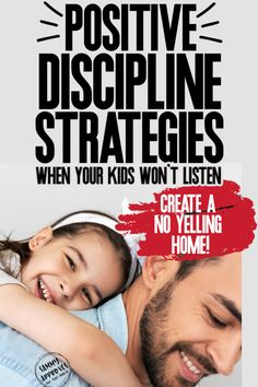 Guide your kids with these positive parenting strategies. Easy tips to get your kids to behave without the harsh punishments or discipline. Positive Parenting Solutions, Good Parenting, Kids Wont Listen, Positive Discipline, Mom Advice, Stress, Positivity, How To Get, Children