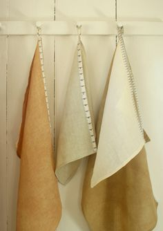 Molly's Sketchbook: Linen and Measuring Tape Twill Dishtowels - Linen + Measuring Tape Twill Dishtowels - the purl bee