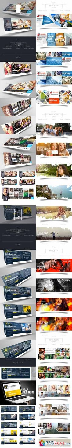 Facebook Timeline Cover - Mega Pack 11317530