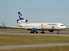 Finnair A340, OH-LQC, Moomins