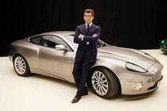 """Srebrny Aston Martin DBS V12 prosto z Jamesa Bonda ..Przyneta"""""""