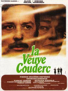 La Veuve Couderc est un film français réalisé par Pierre Granier-Deferre d'après le roman homonyme de Georges Simenon, et sorti en salle en 1971. Un inconnu arrive dans un village et se fait engager comme ouvrier dans une ferme. La veuve Couderc en est la propriétaire, qui d'ailleurs se bat contre sa belle-famille pour en garder la possession. Une histoire d'amour naît entre ces deux êtres dans une France rurale des années 1930.