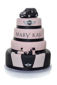 Cute Mary Kay cake ♥