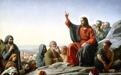Lukisan-The-Sermon-on-the-Mount