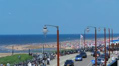 Het strand richting Noordwijk