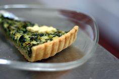 Smitten Kitchen's Spinach Quiche - This was delicious!!!