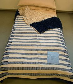 Rya rugs were once used to sleep under, pile-side down. Good thing the woven backings are almost as gorgeous as the front of the rugs.