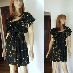 whimsical music note dress great for those by gloriasjewlerynthing, $32.00