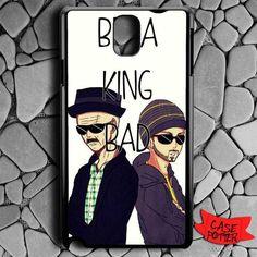 Art Breaking Bad Heisenberg And Jesse Samsung Galaxy Note 3 Black Case
