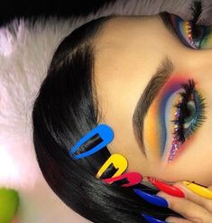 Mar 2020 - Browse the top-ranked list of Colorful Makeup. See more ideas about Makeup, Colorful makeup and Makeup inspiration. Eye Makeup, Makeup Art, Glam Makeup, Beauty Makeup, Makeup Style, Makeup Brushes, Makeup Goals, Makeup Inspo, Makeup Tips