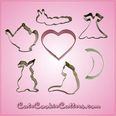 Alice in Wonderland Cookie Cutters Set | Cheap Cookie Cutters