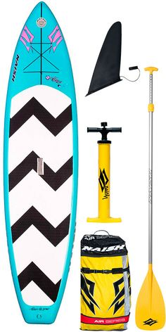 """2016 Naish Alana Air SUP Schlauchboot Stand Up Paddle Board 11'6 """"inc Paddle, Pumpe, BAG & Leine"""
