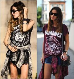 Rock Show What To Wear? Rock Show What To Wear? Rock Show What To Wear? The post Rock Show What To Wear? appeared first on New Ideas. Rock Outfits, Hipster Outfits, Grunge Outfits, Girl Outfits, Fashion Outfits, Hijab Fashion, Rocker Style, Rocker Chic, Festival Looks