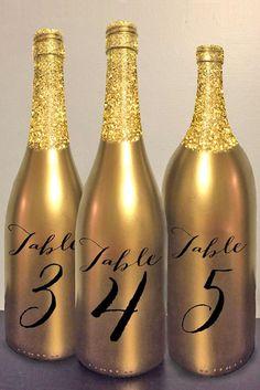 Color Theme: Luxury Gold Wedding Decorations ❤ See more: http://www.weddingforward.com/gold-wedding-decorations/ #weddings