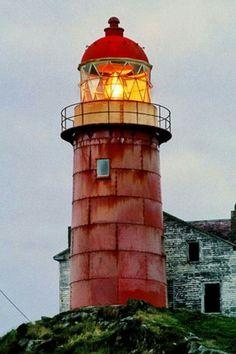 Ferryland head lighthouse, New foundland, Canada.