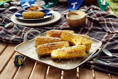 Host Patricia Heaton's dish, Foil Packet Corn on the Cob, as seen on Food Network's Patricia Heaton Parties
