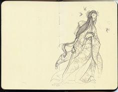 Kelley McMorris illustration: Lady Hummingbird ✤ || CHARACTER DESIGN REFERENCES