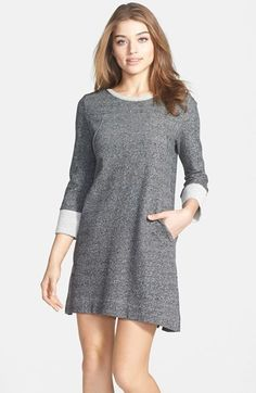French Connection 'Mississippi Mélange' Sweater Knit Shift Dress