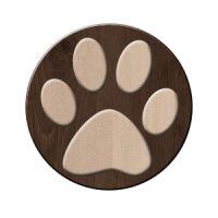 犬足跡 丸