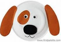 Dog crafts - Bing Images - use this picture right here as an example