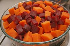 Svenjas Rote Bete-Süßkartoffel Gratin mit Ingwer 4