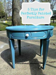 Turn your flea-market furniture finds into perfectly painted pieces.