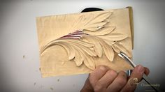 Woodcarving School Online Gabovetskiy Alexander- Learn to Carve Corinthian Acanthus Leaf the most ancient form of Acanthus Wood Carving