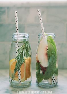 fuit infused water ideas 3 and 4