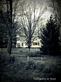 Country House..I would love to live here.