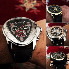 Top Mechanical Watches Men's Watches on AliExpress Swiss Luxury Watches, Luxury Watches For Men, Apple Watch Fashion, Leather Box, Best Deals Online, Mechanical Watch, Rolex Watches, How To Find Out, Accessories