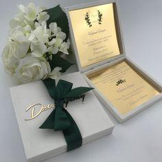 Prosba O Blogoslawienstwo Zaproszenie Dla Rodzicow W Pudeleczku Zlote Lustro Nadruk Uv Wedding Gifts Place Card Holders Gifts