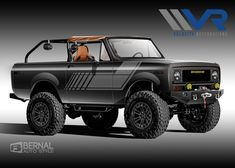 International Pickup Truck, International Scout, Broncos, Pickup Trucks, Scouts, Great Britain, Hot Rods, Vehicle, Restoration