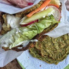 Glutenfree zucchini tortilla