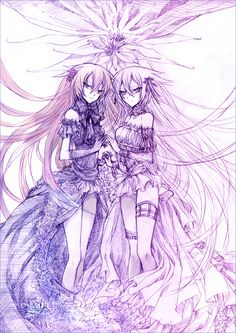 Alice and Alyss / Intention of the Abyss ||| Pandora Hearts Fan Art