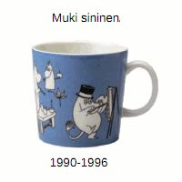 In production Tove Jansson, Moomin Mugs, Retro Vintage, Tableware, Decor, Blue, Dinnerware, Decoration, Tablewares