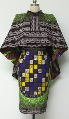 African print dresses can be styled in a plethora of ways. Ankara, Kente, & Dashiki are well known prints. See over 50 of the best African print dresses. African Dresses For Women, African Print Dresses, African Attire, African Wear, African Fashion Dresses, African Women, African Prints, African Style, Ankara Fashion