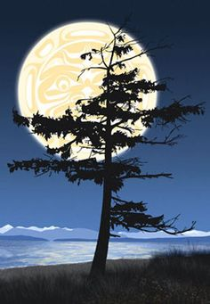 Andy Everson is a Northwest Coast Artist from Comox BC specializing in contemporary and traditional limited edition Native prints. Native Art, Native American Art, Haida Art, Aboriginal Art, Canadian Art, Wow Art, Indigenous Art, Light Painting, Tree Art