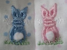 Bullion Bunny from Sew Beautiful--really cute on preemie clothes