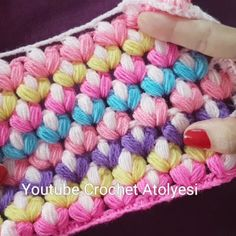Moist Pumpkin Bread (One Bowl) - Orion - Her Crochet Crochet Towel, Love Crochet, Crochet Baby, Crochet Stitches Patterns, Crochet Designs, Knitting Patterns, Puff Stitch Crochet, Bobble Stitch, Easy Crochet Blanket