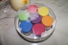 Receita #2: Iogurtes de Cheesecake de limão